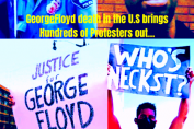 George Floyd's death in the U.S brings Hundreds of Protesters out in London, Berlin.